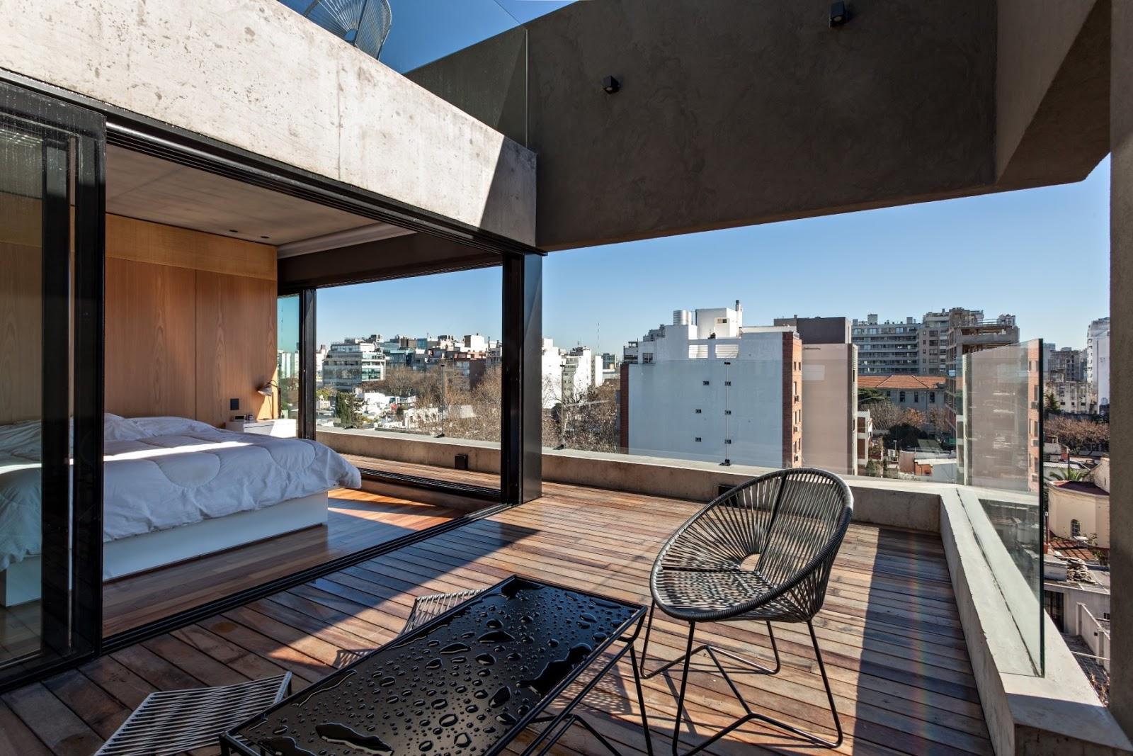 Apuntes revista digital de arquitectura edificio de for Remate de terrazas