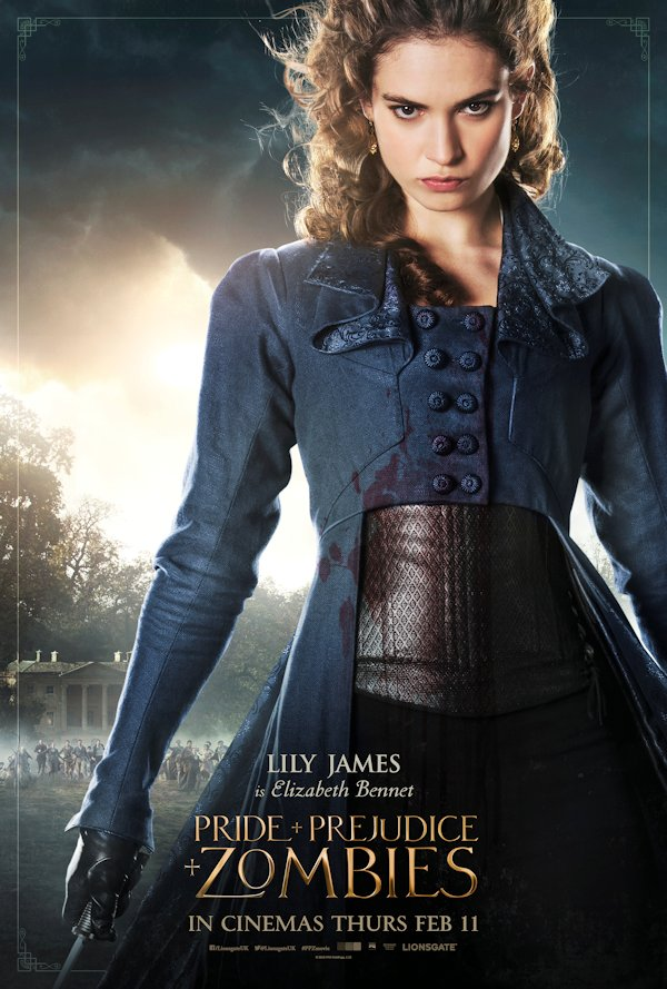 Realm of Horror - News and Blog: PRIDE PREJUDICE AND ZOMBIES