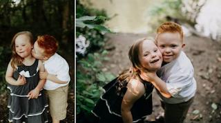 «Οι καρδιές μας είναι όλες ίδιες»: Δύο 7χρονα παιδιά με σύνδρομο Down φωτογραφίζονται και λιώνει η καρδιά μας
