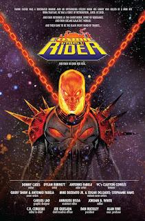 """Primer vistazo a """"Cosmic Ghost Rider"""" de Dinny Cates y Geoff Shaw - Marvel Comics"""