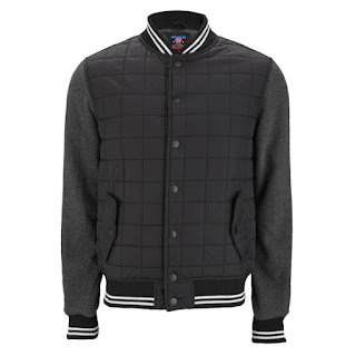 55 Soul Men's Pilot Jacket - Black - 13,49€