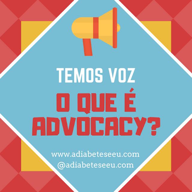 temos voz, diabetes, advocacy, direitos
