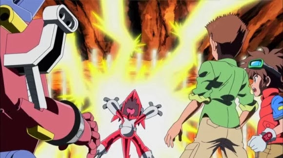 Digital-Ranger's Blog: Digimon Fusion Episode 8