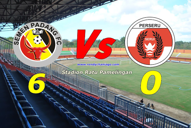 Setelah PSCS Cilacap, Kali Ini Perseru Serui Jadi Lumbung Gol Semen Padang 6:0 Tanpa Balas