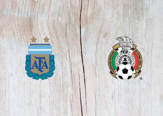 Argentina vs Mexico Full Match & Highlights 21 November 2018
