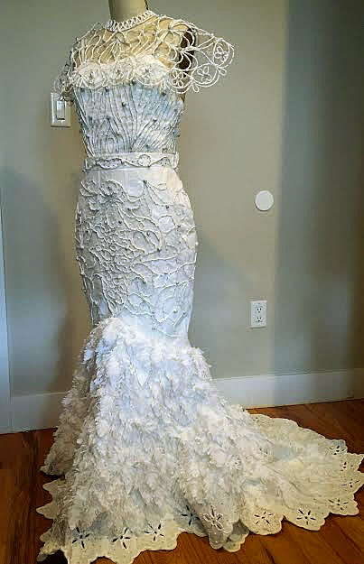 Van Tran Toilet Paper Wedding Dress