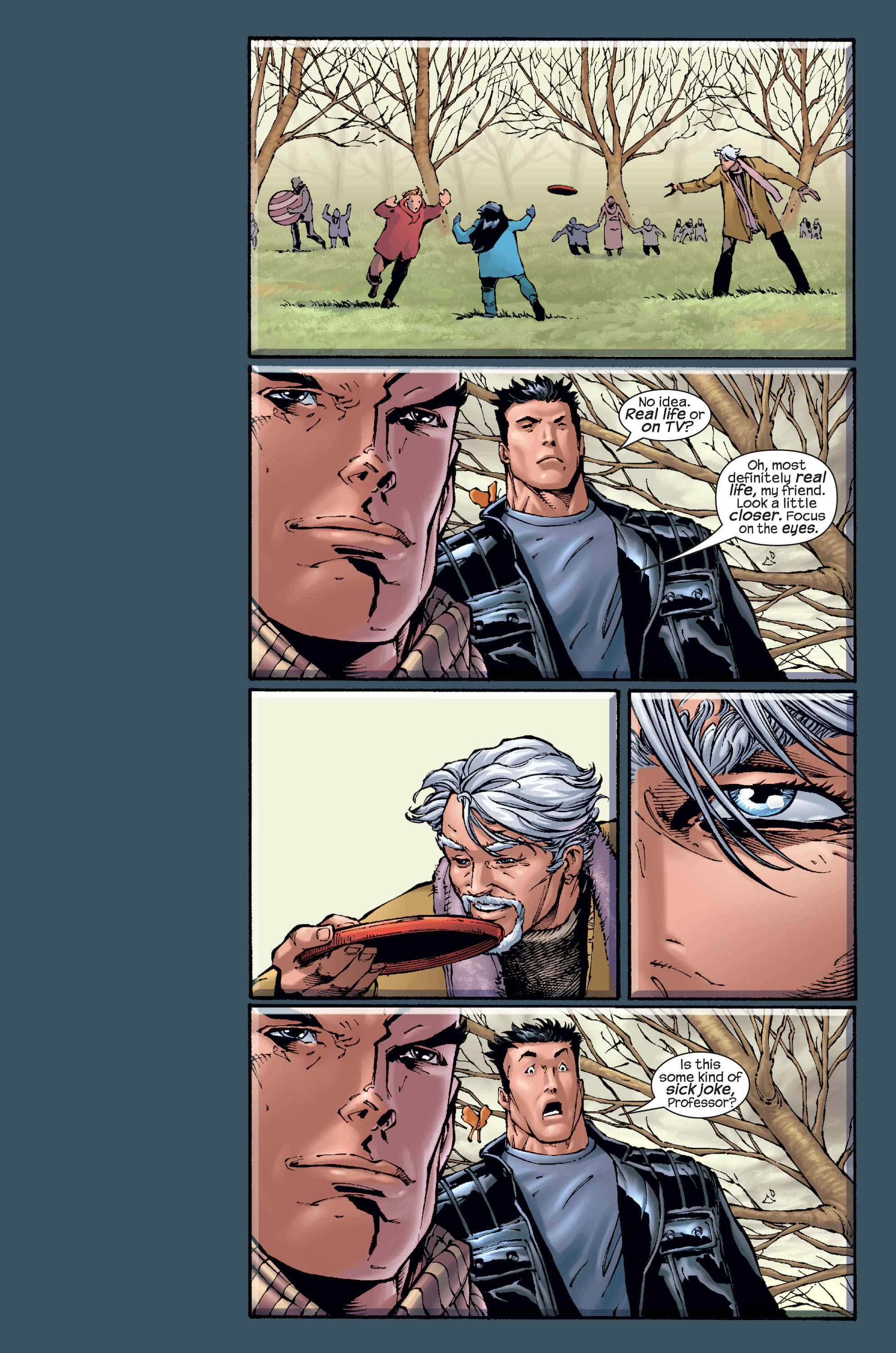 Read online Ultimate X-Men comic -  Issue #15 - 16