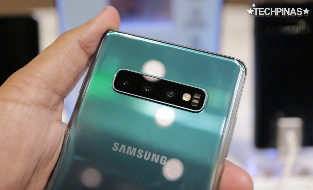 Samsung Galaxy S10+ Triple Camera