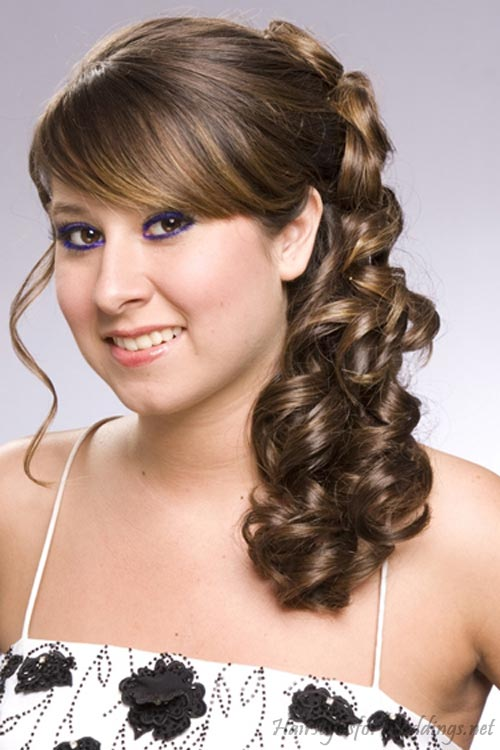 wedding hairstyles for long hair half up 2012. Black Bedroom Furniture Sets. Home Design Ideas