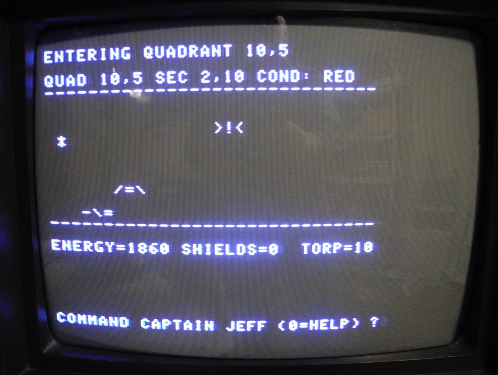 Star Trek, Credits to Jeff Tranter