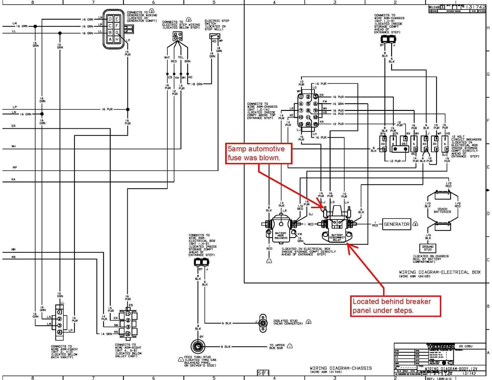 Winnebago Chalet Wiring Diagram
