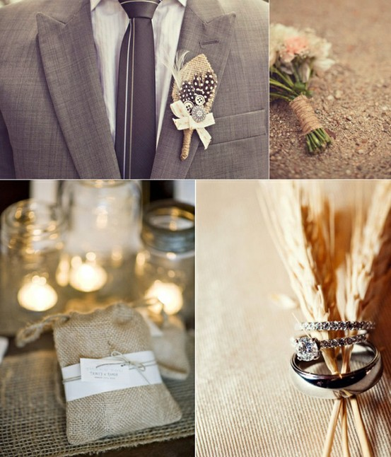 Diy Burlap Wedding Ideas: Weddings At Wilderness Ridge: Wedding Trend: Burlap