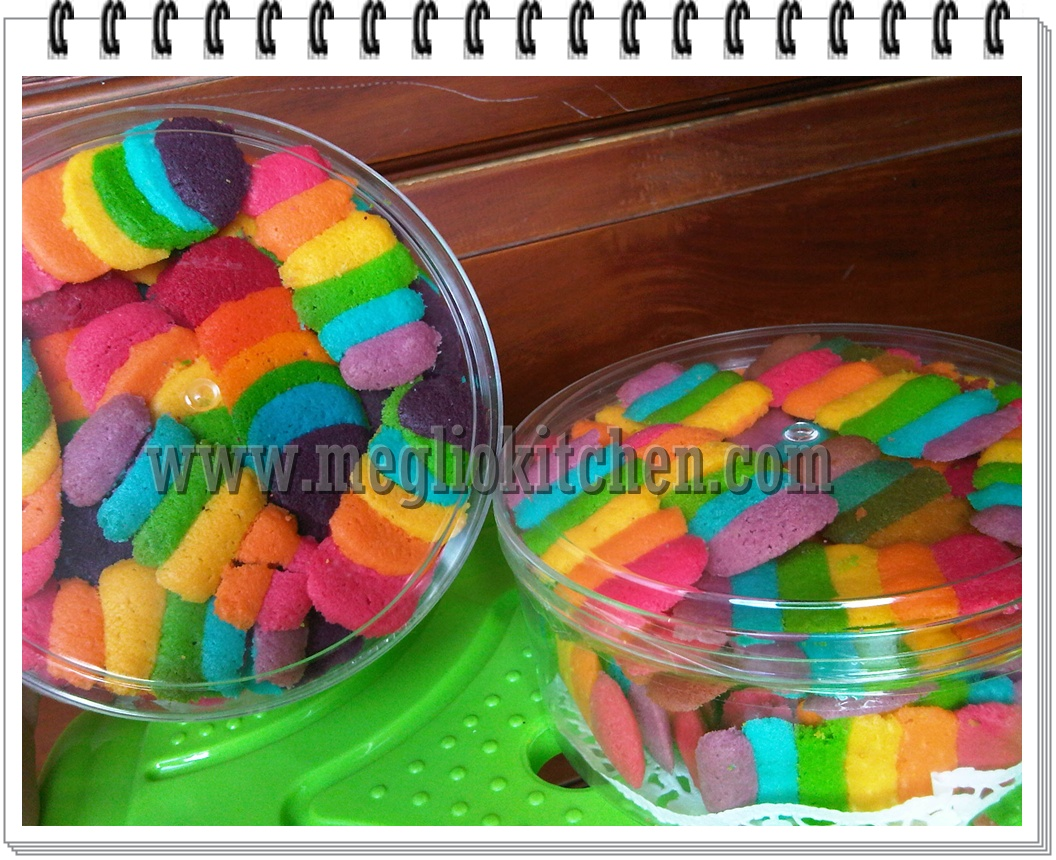 Resep Rainbow Cake Kukus Istimewa: RESEP RAINBOW CAKE KUKUS FATMAH BAHALWAN