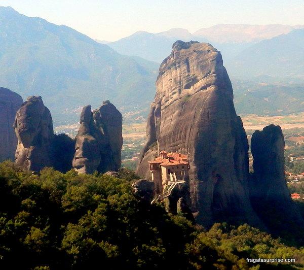 Mosteiro de Rossanou, Meteora