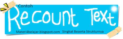 Contoh Recount Text Singkat Terbaru Beserta Strukturnya 18 Contoh Recount Text Singkat Terbaru Beserta Strukturnya