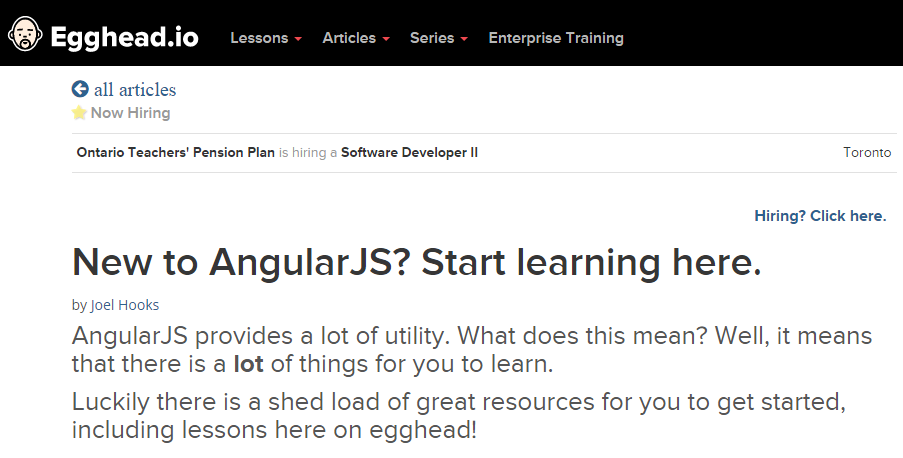 Learn AngularJS Best Tutorial Point For Beginners