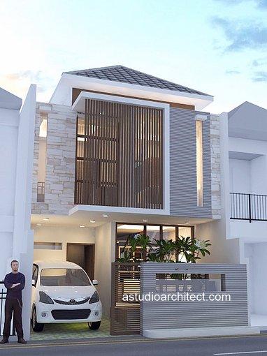 Desain rumah dijual lebar 6m