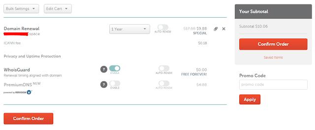 Cara Perpanjang Domain Namecheap Sebelum Jatuh Tempo Expired