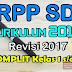 RPP Kurikulum 2013 Revisi 2017 Jenjang SD Lengkap