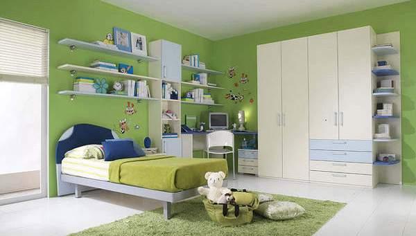Interior Kamar Tidur Anak Minimalis Modern