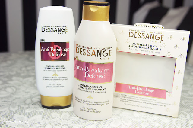 Dessange - Anti-Breakage Defense - Shampoo, Spülung und Stärke-Kur