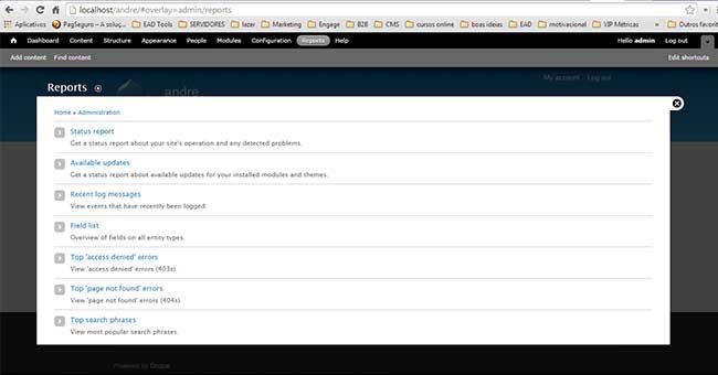Tutorial Web Design com Drupal