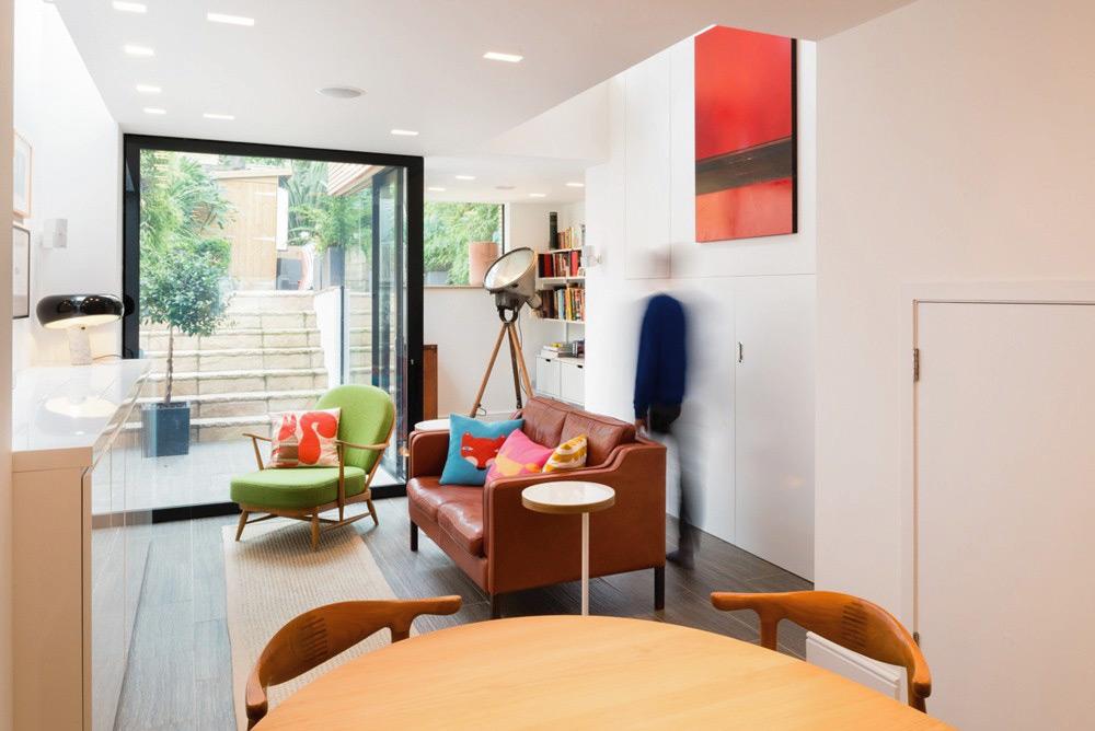 L'ampliamento contemporaneo di una tradizionale casa vittoriana