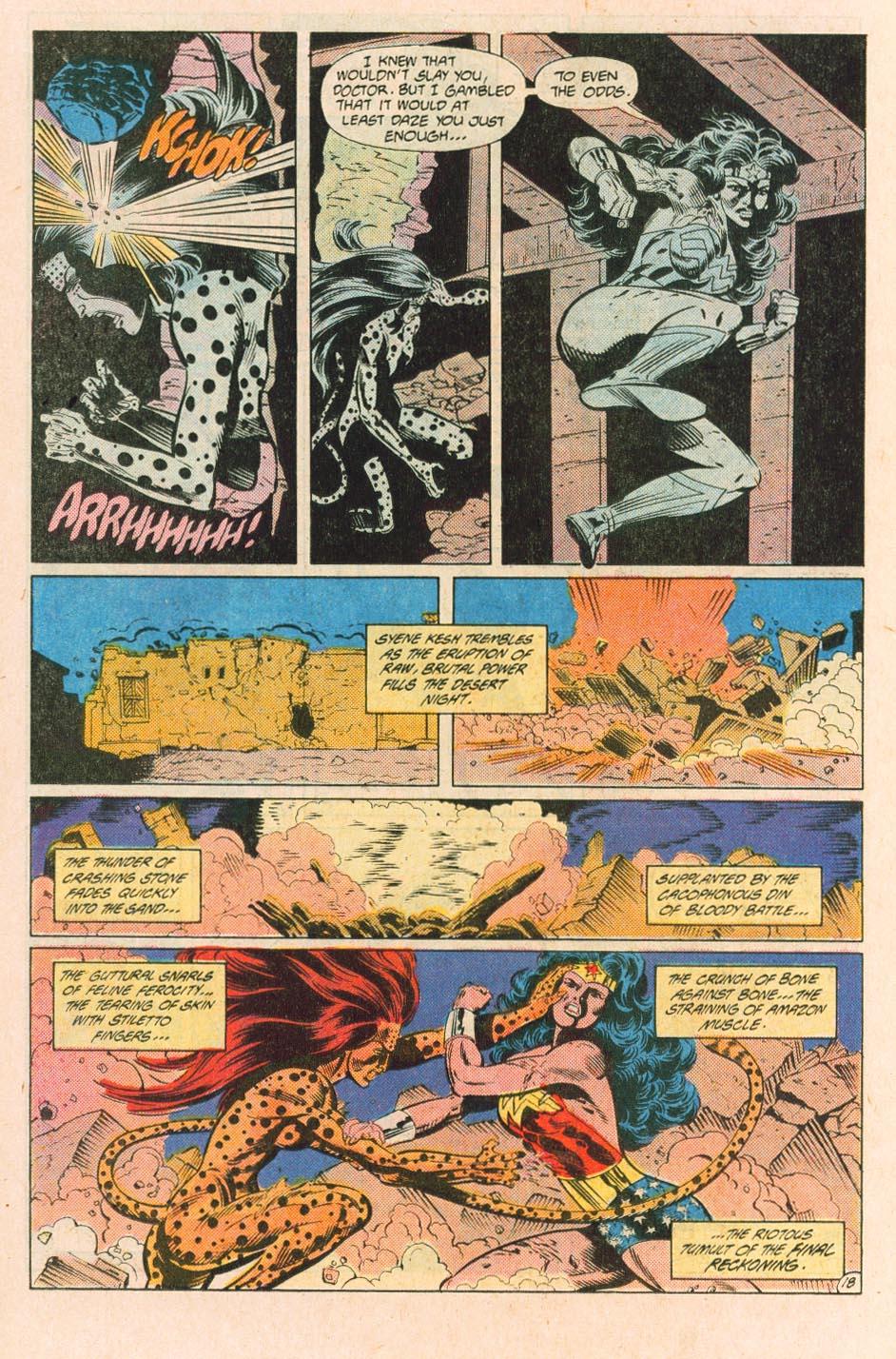 Read online Wonder Woman (1987) comic -  Issue #31 - 20