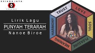 Lirik, Video dan MP3 Lagu Punyah Terarah Nanoe Biroe