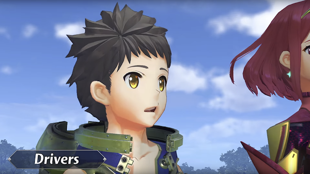 Xenoblade Chronicles 2 Direct Rex drivers