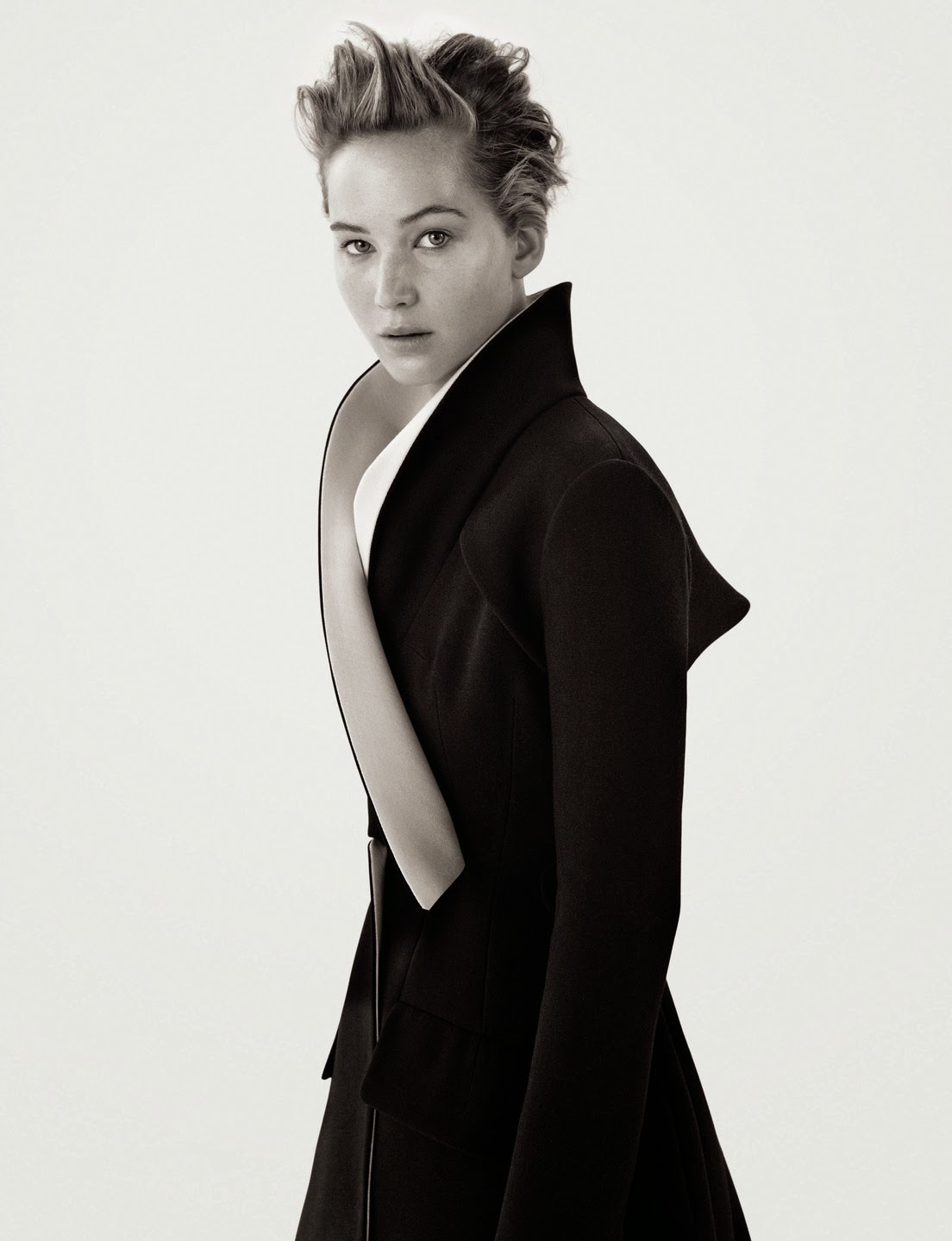 Jennifer Lawrence for Dior Magazine 2013