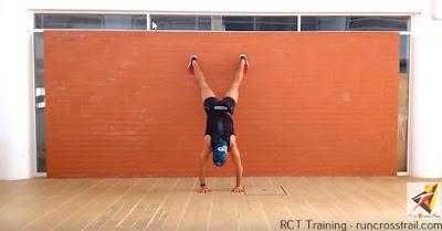 Treino de ombros e  peito - Pino dinâmico - RCT Training