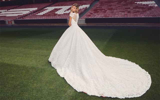 """El Benfica da el """"Sí, quiero"""" a los trajes de novia"""