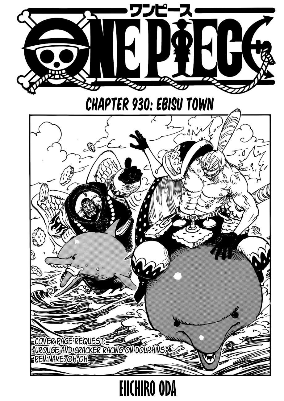 One Piece 930 Chapter Online English