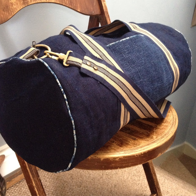 how to make a barrel bag