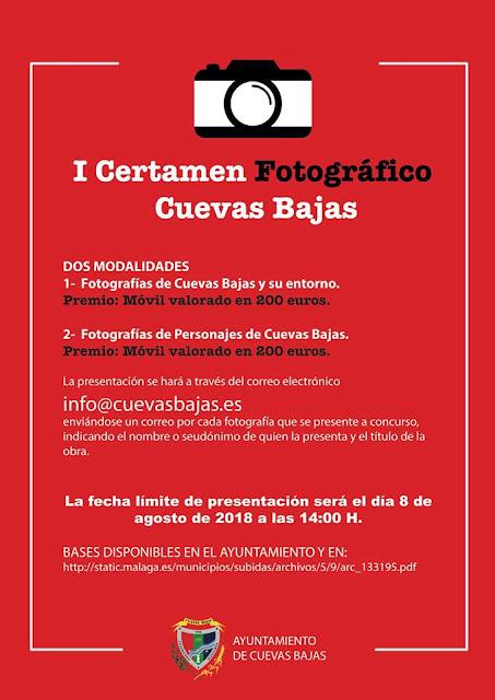 Concurso de Fotografía de Cuevas Bajas