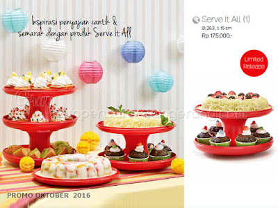 Serve It All ~ Tupperware Promo Oktober 2016