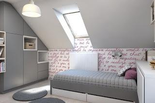 cuarto pequeño para chica