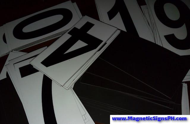 Rectangular Magnetic Labels