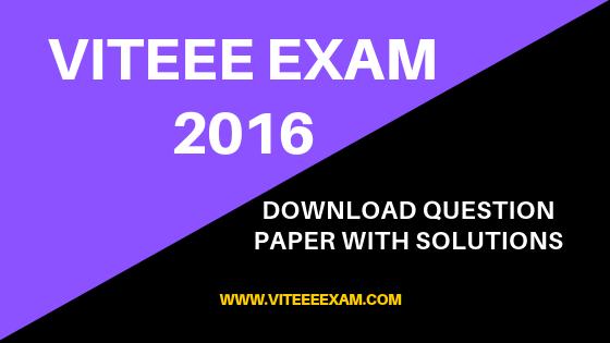 Vit 2014 Question Paper Pdf