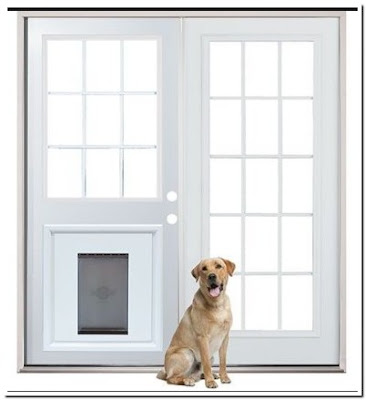 Patio Screen Door With Pet Entrance More Simply