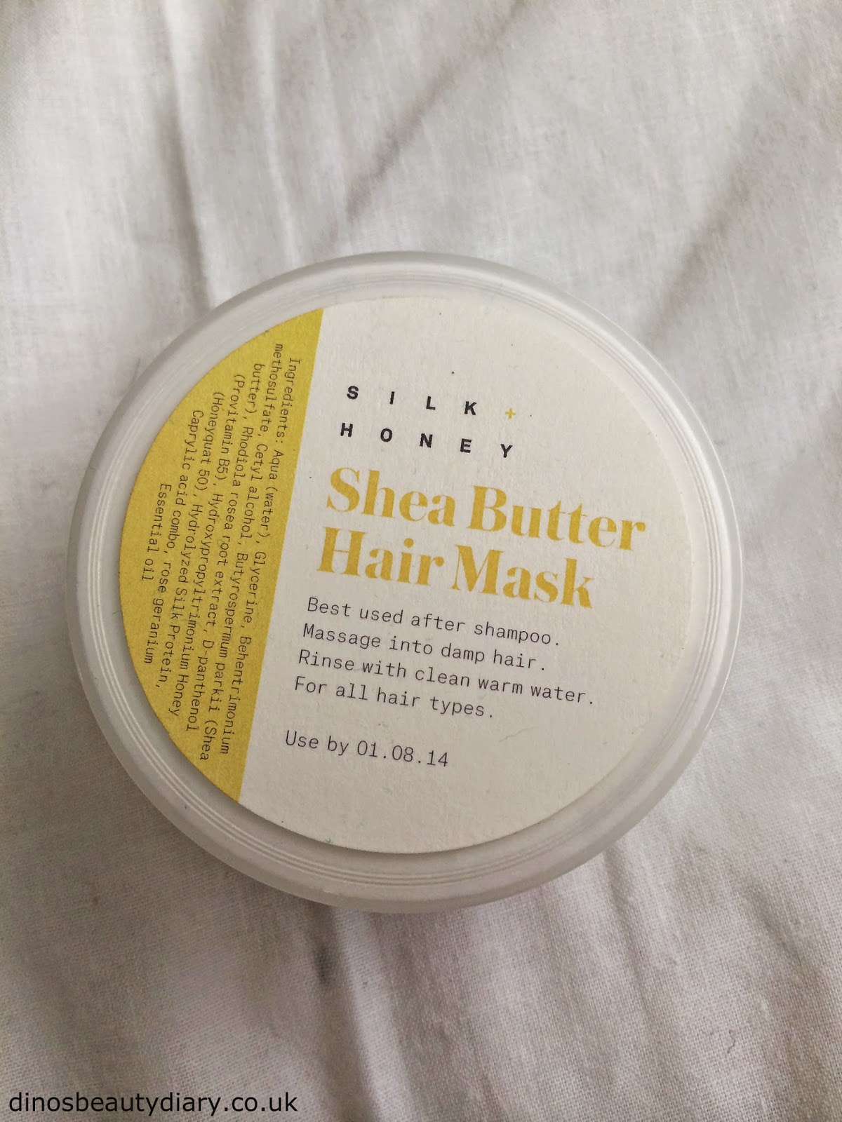 Dinos Beauty Diary - June and July Birchbox - Silk + Honey Hair Mask