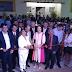 Ao lado do prefeito Zenóbio e de populares Neide de Teotônio inaugura nova fachada da CMG