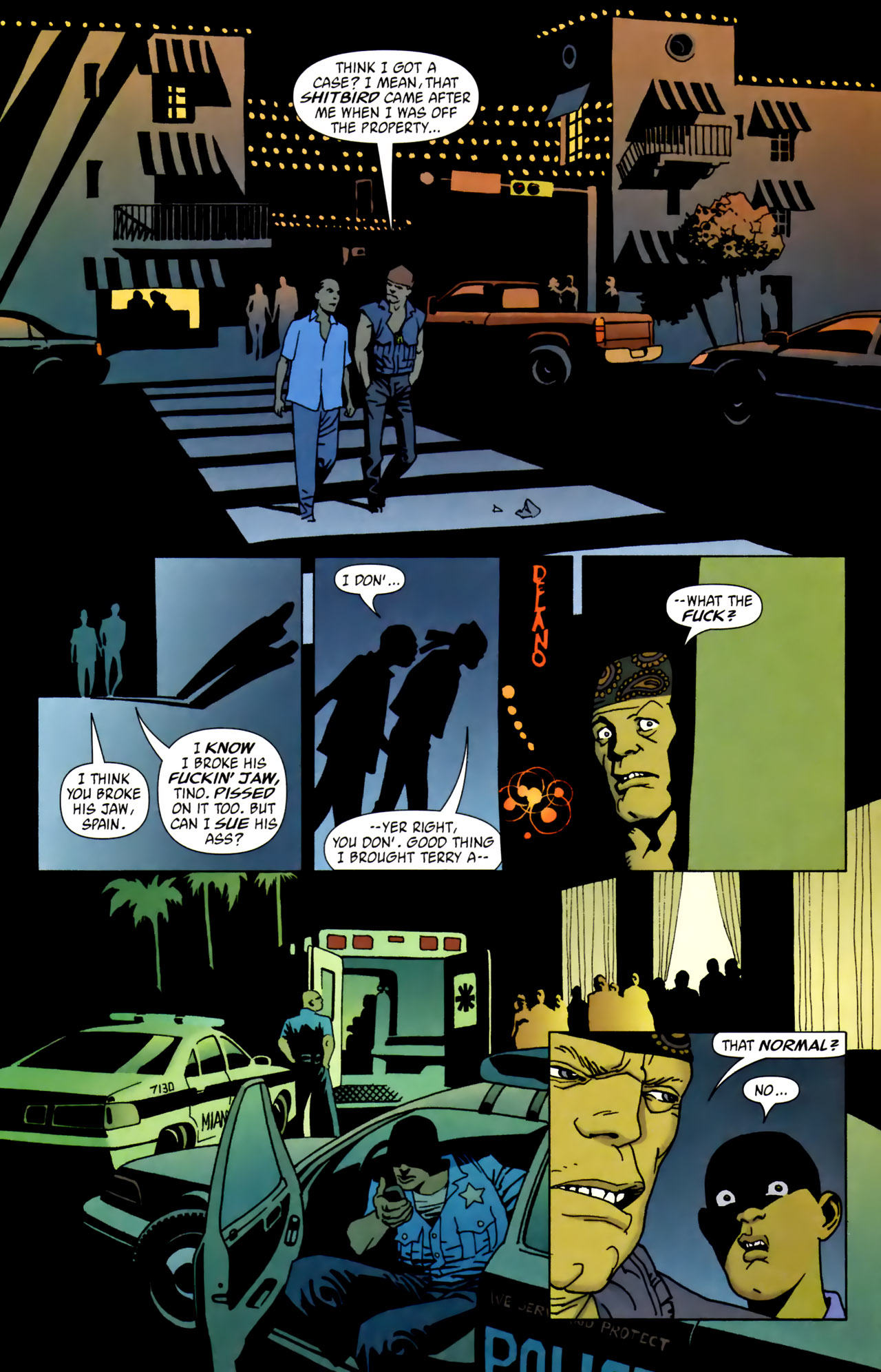 Read online 100 Bullets comic -  Issue #62 - 9
