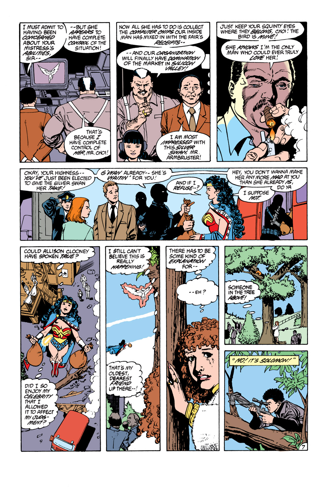 Read online Wonder Woman (1987) comic -  Issue #16 - 8
