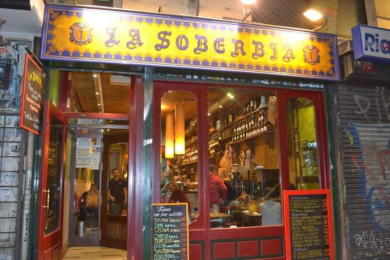 Espagne, Madrid, Soberbia, Calle de Espoz y Mina