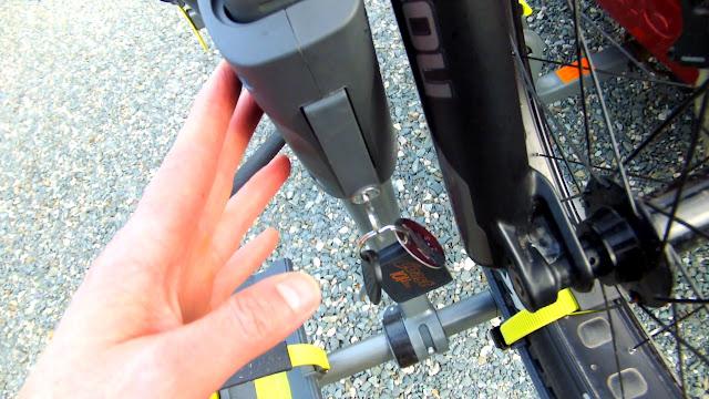 Swagman Sitkka 2 Zero Frame Contact Fatbike Rack Review Lock