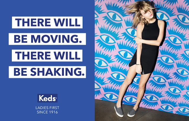 Keds 'Ladies First' Fall/Winter 2015 Campaign featuring Taylor Swift