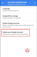 how to remove gmail account from android phone after factory reset