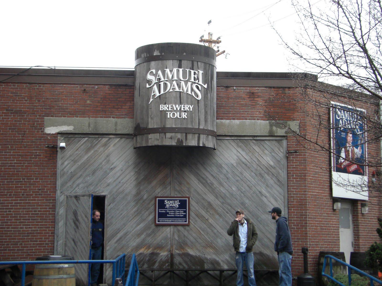 Sam Adams Brewery Tour Times Boston Ma